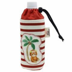 ベイビーココ & ナツ ペットボトルホルダー 保温保冷 ボトルケース Natsu ボーダーレッド かわいい キャラクター グッズ