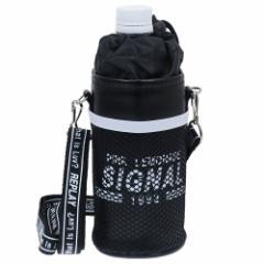 ペットボトルホルダー SIGNAL 保温 保冷 ボトルケース 2019SS ショルダーストラップ付き かわいい グッズ