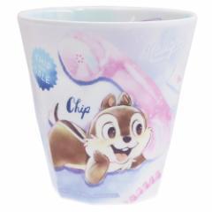 チップ&デール メラミンカップ Wプリント メラミンカップ 2019SS ディズニー 270ml キャラクター グッズ
