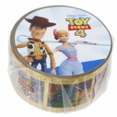 トイストーリー 4 マスキングテープ 箔入り 20mm マステ フィルム ゴールド ディズニー 20mm×4メートル メール便可