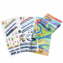 プラレール シールシート コレクション シール 2枚セット 海 鉄道 シール集め キャラクター グッズ メール便可