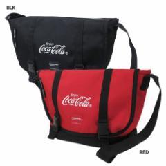 コカコーラ × YAKPAK ショルダーバッグ メッセンジャーバッグ CocaCola 45×25×14cm キャラクター グッズ 送料無料