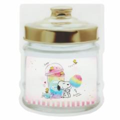 スヌーピー 自立 食品保存袋 スタンド ジッパーバッグ M 4枚セット コットンキャンディ ピーナッツ 14.3×18.9×6cm メール便可