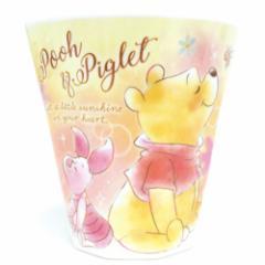 くまのプーさん プラカップ Wプリント メラミンカップ プレシャスドリーム ディズニー 子供 食器 キャラクター グッズ