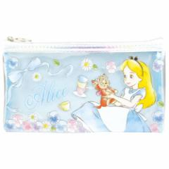 ふしぎの国のアリス 筆箱 クリアポーチ M ディズニー ペンケース キャラクター グッズ メール便可