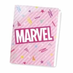 マーベル ポケットファイル ポケットファイル 6+1 80s POP ピンク 書類整理 キャラクター グッズ