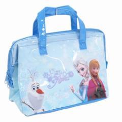 アナと雪の女王 保冷バッグ 保冷がま口ランチバッグ エナメル ディズニー 26×20×13cm キャラクター グッズ