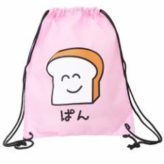 ナップサック ぱんさん ポリナイロン ナップザック 約42×34cm かわいい グッズ
