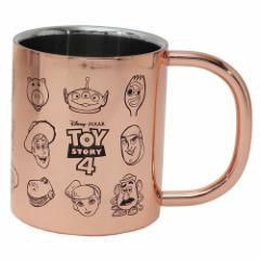 トイストーリー 4 保温保冷 コップ ステンレス 二重 マグカップ フェイス ディズニー 300ml キャラクター グッズ