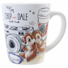 チップ&デール マグカップ 陶器製 コップ ディズニー ギフトマグ キャラクター グッズ