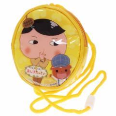 おしりたんてい キッズ ポシェット ラウンド ネックポーチ イエロー NHK 子供用かばん キャラクター グッズ