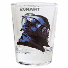 アベンジャーズ 4 エンドゲーム ショットグラス ミニ ガラス タンブラー サノス マーベル 50ml キャラクター グッズ