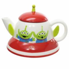 トイストーリー 急須 磁器製 ティーポット エイリアン UFO ディズニー お茶セット キャラクター グッズ