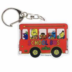 セサミストリート アクリル キーホルダー キーリング バス バッグチャーム キャラクター グッズ メール便可