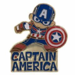 キャプテンアメリカ ピンバッジ ピンズ マーベル プチギフト キャラクター グッズ メール便可