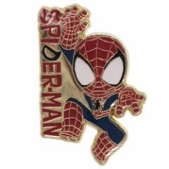 スパイダーマン ピンバッジ ピンズ マーベル プチギフト キャラクター グッズ メール便可