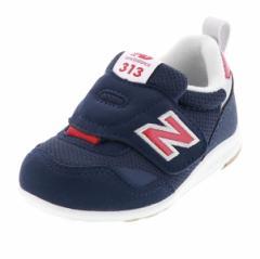 ニューバランス NEW BALANCE ベビー キッズ あんよ NB IT313 FIRST ネイビー 子どもの足の成長をサポート!