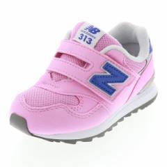 ニューバランス NEW BALANCE キッズ スニーカー カジュアル 運動靴 NB IO313PK PINK ピンク