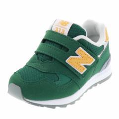 ニューバランス NEW BALANCE キッズ スニーカー カジュアル 運動靴 NB IO313GR GREEN グリーン