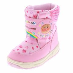 MOONSTAR ムーンスター キッズ・ベビー ウィンターブーツ APM C023EWP アンパンマン PINK ピンク 女の子