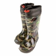 WILD TREE ワイルドトゥリー キッズ レインブーツ 長靴 ネームタグ付き カップインソール 迷彩 AK2014 KAメイサイ
