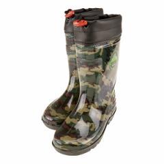 WILD TREE ワイルドトゥリー キッズ レインブーツ ジュニアレインブーツ 長靴 ネームタグ付き カップインソール 迷彩 AK2014 KAメイサイ