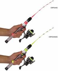 プロックス(PROX) クリアロックプラスセット(スピニング) 蛍光イエロー CRPS44SSS 【釣具 釣り具】