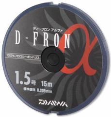 ダイワ(Daiwa) ディーフロン アルファ15m ナチュラル 0.6号