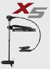 モーターガイド X5シリーズ【大型送料1,000円キャンペーン!※沖縄県、離島地域はお届けできません。】 X5-105V-45 SNR 【釣具 釣り具