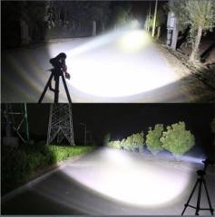 超強力 軍事用 LED タクティカルライト 懐中電灯 8000ルーメン サバイバル、キャンプ、登山、釣り、災害対策に!CREE XM-L2 単品