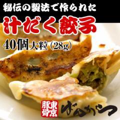 汁だく餃子(大粒28g)40個入り ばんからの肉汁系餃子