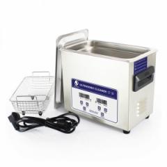強力超音波洗浄機 3.2L JP-020S 業務用 デジタル表示 精密制御可能 加熱温度調整機能有