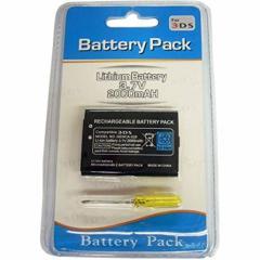 NINTENDO 任天堂 3DS用 交換電池 バッテリーパック 2000mAh ドライバー付属