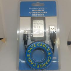 PlayStation 3 PS3 Dualshock 3 ワイヤレスコントローラー対応バッテリー 互換用