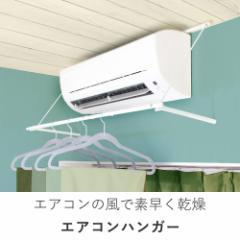 【送料無料】エアコンに引っかけて乾かす!室内干し 室内物干し 洗濯物干し エアコンハンガー 耐荷重5kg 衣類洗濯乾燥機代用(B109)