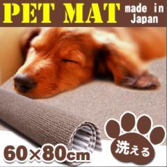 【送料無料】【ペット用マット ペットマット ペットシーツ 格安 ペット用品 犬 猫 丸洗い】 猫 犬 薄型 ペット用マット 60×80cm(B232)