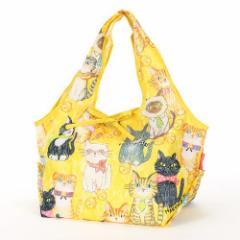 2WAYエコバッグ 猫が整列したら DESIGNERS JAPAN 猫柄