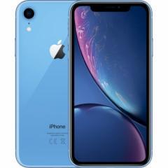 「新品」SIMフリー au iPhone XR 128GB BLUE ブルー MT0U2J/A [auからSIMロック解除 ][Apple/アップル][アイフォン]