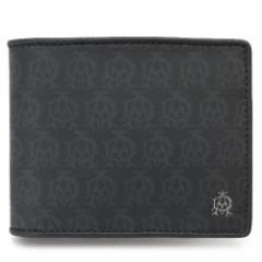 ダンヒル 折財布 DUNHILL メンズ 財布 WINDSOR PVC レザー 黒 ブラック L2PA32A BLACK