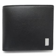 ダンヒル 折財布 DUNHILL メンズ 財布 レザー 黒 ブラック QD3070A BLACK