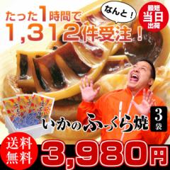 イカ焼き いかのふっくら焼3袋 日本海で水揚げされた国産いか。海産物を贈り物(ギフト/プレゼント)に。海鮮、魚介の美味しいお歳暮
