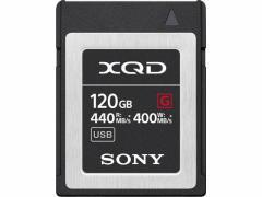 ソニー/XQDメモリーカード120GB/QD-G120F