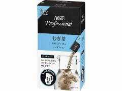 味の素AGF/AGFプロフェッショナル むぎ茶 1L用 10本