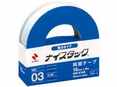 ニチバン/ナイスタック強力紙両面テープ 15mm×5m/NW-K15S