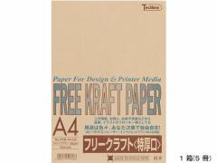 SAKAEテクニカルペーパー/クラフトペーパー特厚口 A4 ライトブラウン 5冊