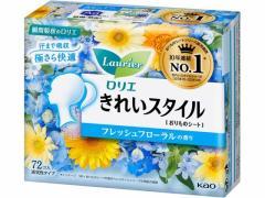 KAO/ロリエ きれいスタイル フレッシュフローラルの香り 72個