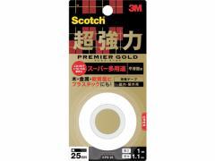 3M/スコッチ超強力両面テープ プレミアゴールド25mm×1m