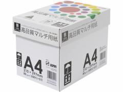 APP/インクジェット対応 高品質マルチ用紙A4 500枚×5冊