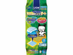 LION/ペットキレイ システムトイレ用 ひのきでニオイをとるシート 12枚