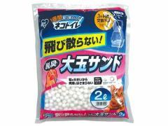 アイリスオーヤマ/1週間取替いらずネコトイレ大玉脱臭サンド2L/TIO-2L